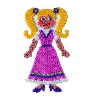 Hama Midi - podložka panenka