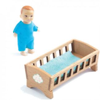 Domeček pro panenky - miminko Sasha