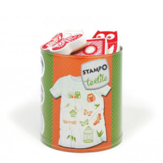 Stampo textil - sovy