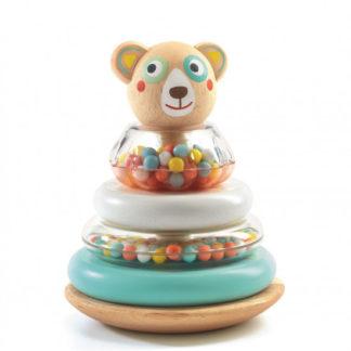 Stohovací hračka - medvídek