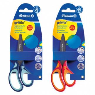 Nůžky pro praváky Griffix - mix barev