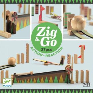 Dominová dráha Zig & Go - 27 ks