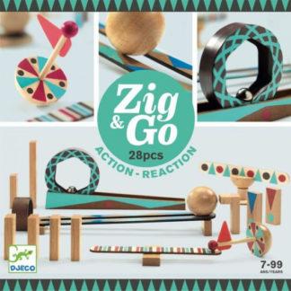 Dominová dráha Zig & Go - 28 ks