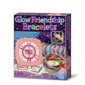 Výroba svítících náramků přátelství