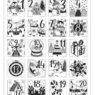 Stampo christmas - Adventní kalendář