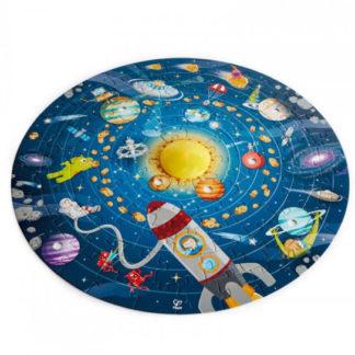 Dětské puzzle - Sluneční soustava LED