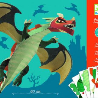 Papírová skládačka - velký drak
