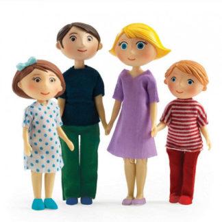 Domeček pro panenky - rodina Gasparda a Romy
